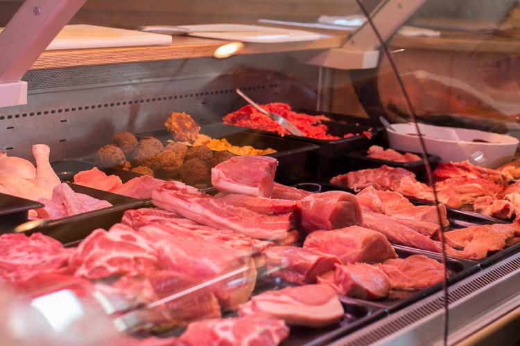 Bio-Fleisch und Wurstprodukte