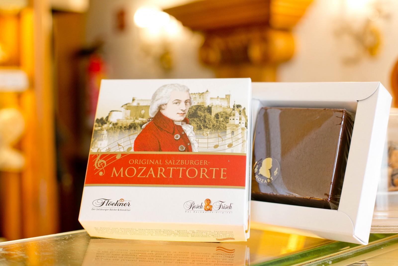 Mozarttorte von Flöckner