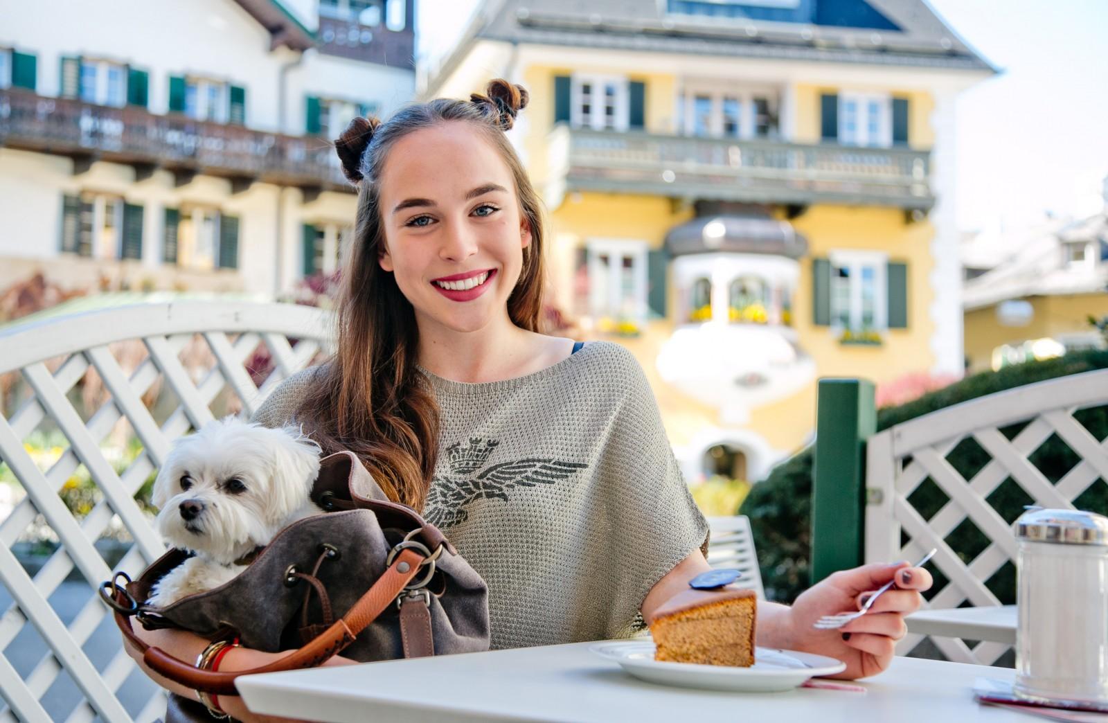 Mozarts Reisetorte aus dem Cafe Dallmann in St Gilgen, (c) wildbild