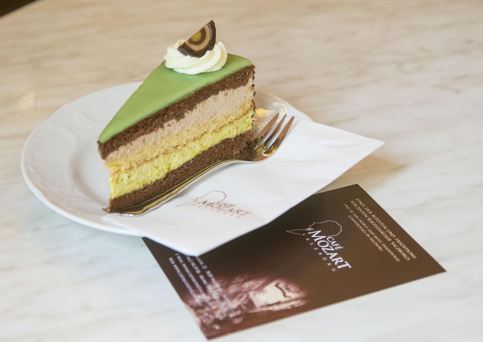Mozarttorte, Cafe Mozart