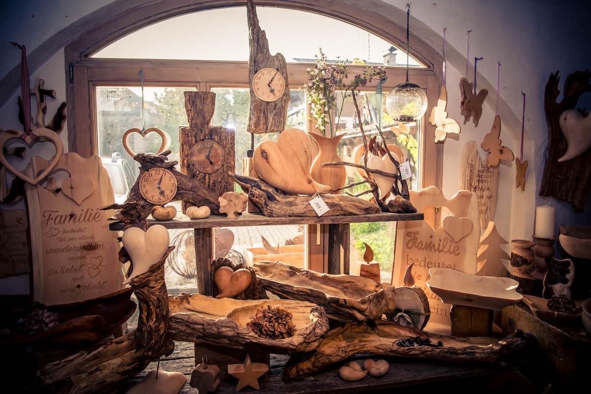 Allerlei Kreatives aus Holz.