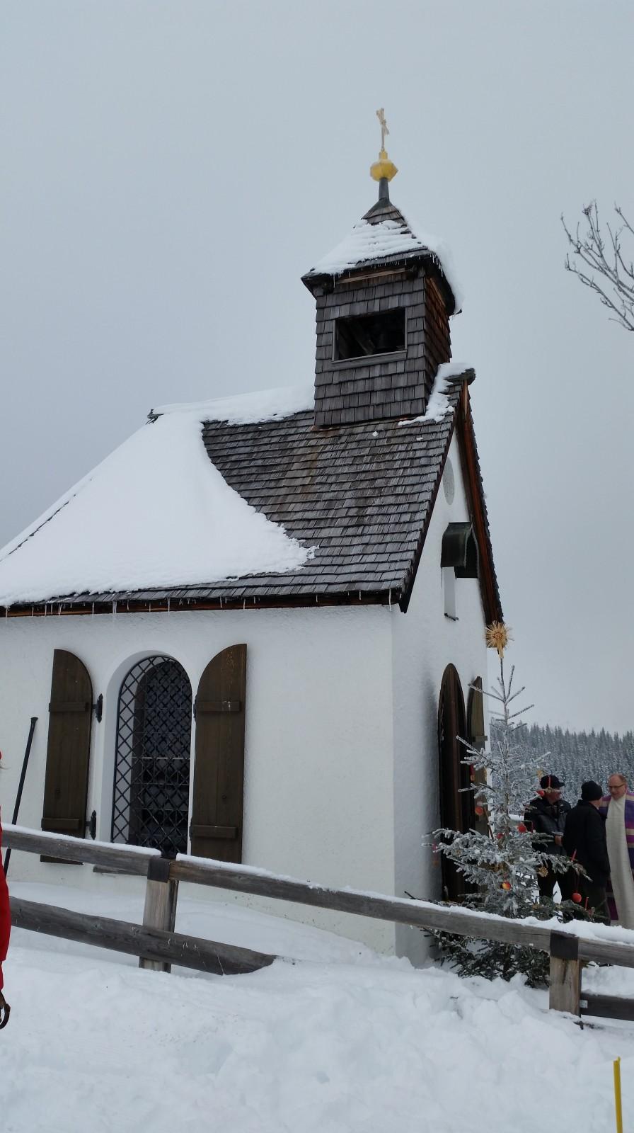 Die alte Postalmkapelle