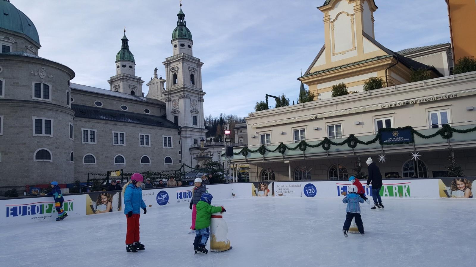 Blick auf den Salzburger Dom
