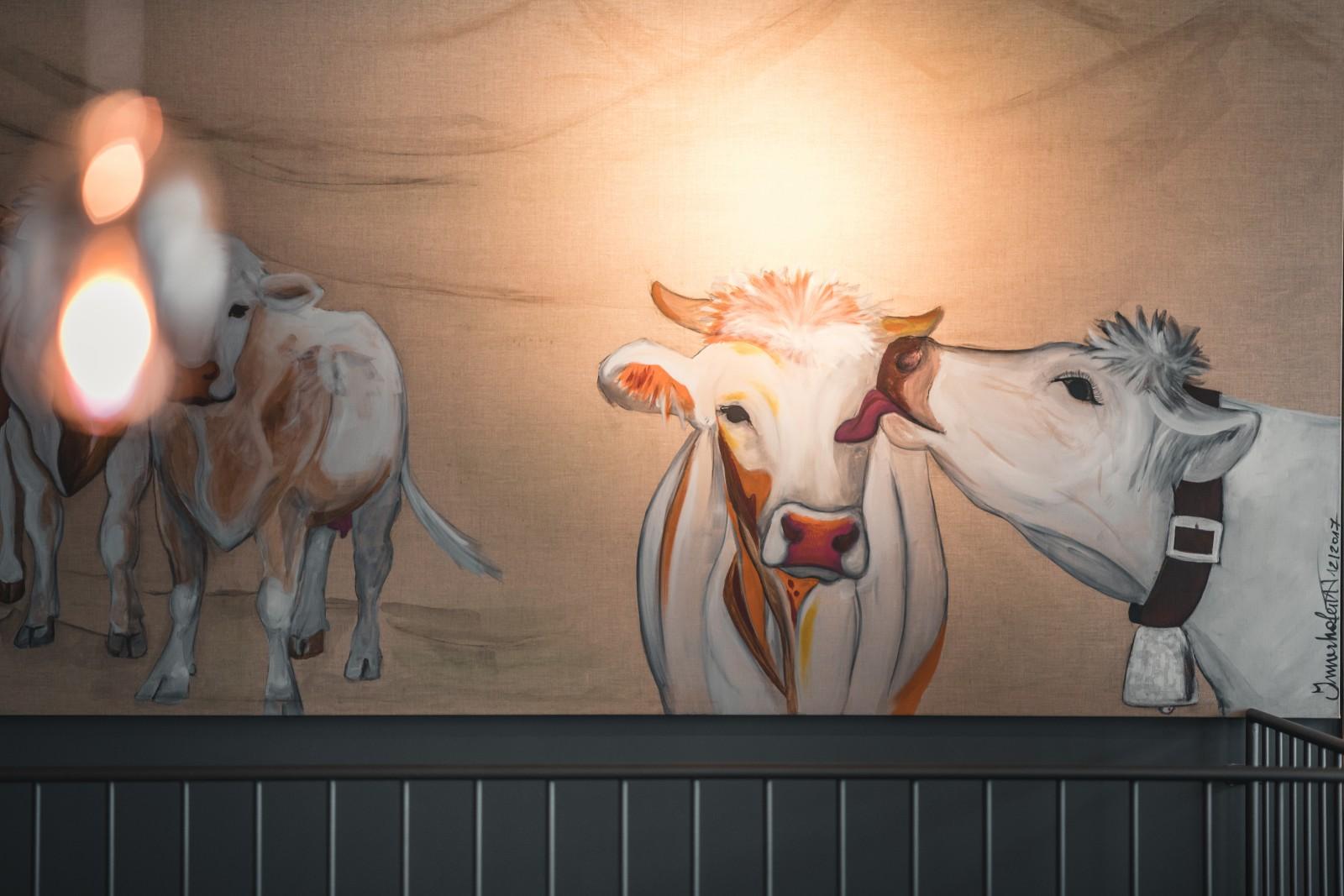 Kuh-Kunst von Theresia Innerhofer