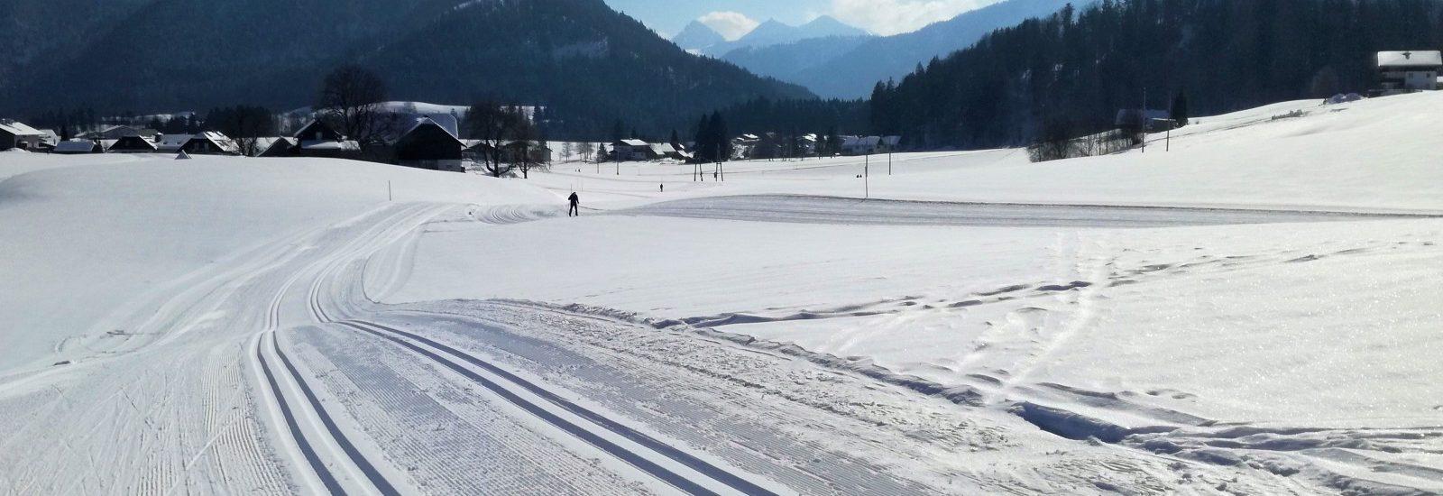 Langlaufdorf Faistenau_Dorfloipe