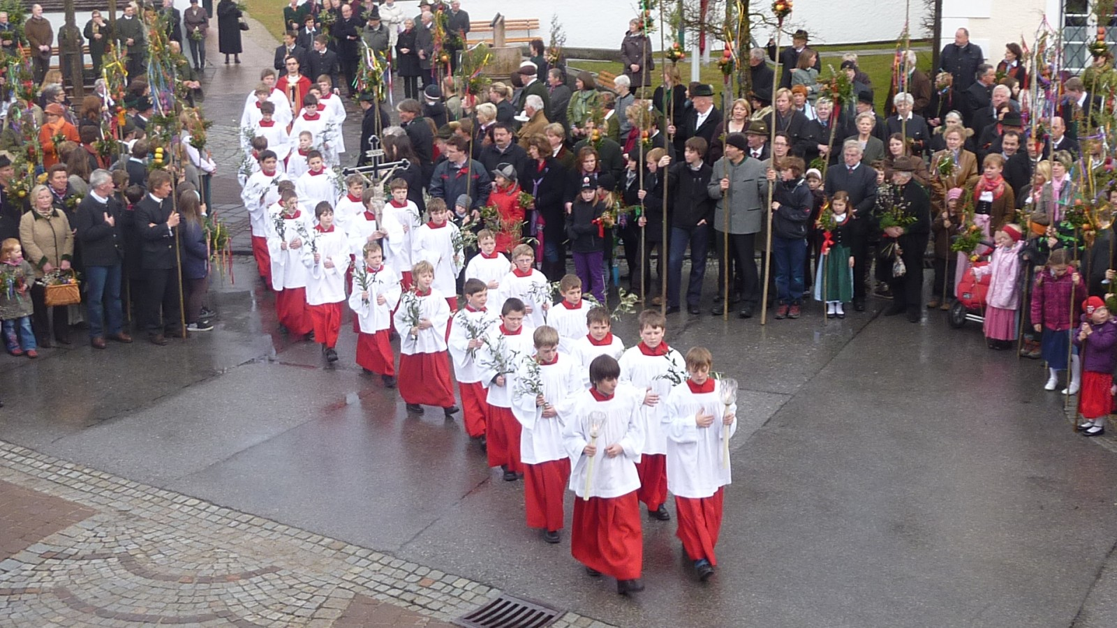 Prozession in Strobl