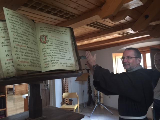 Altes Buch im Kapuzinerkloster
