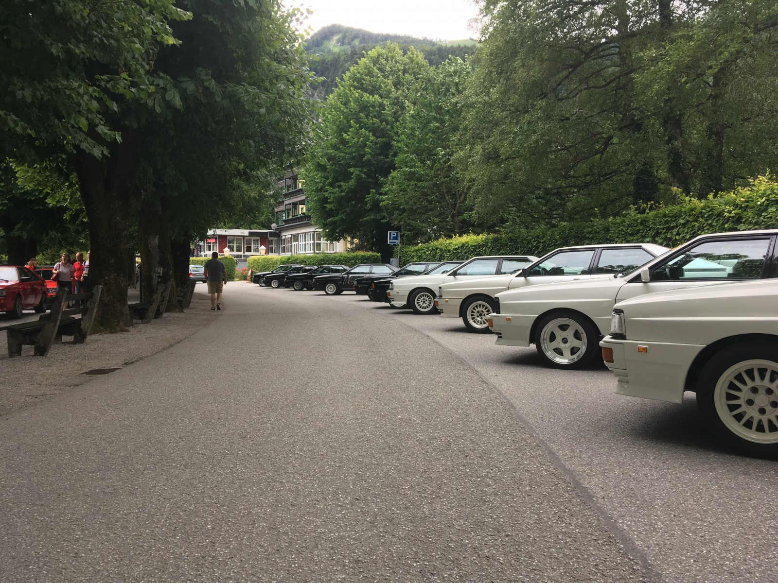 Show and Shine in St. Gilgen