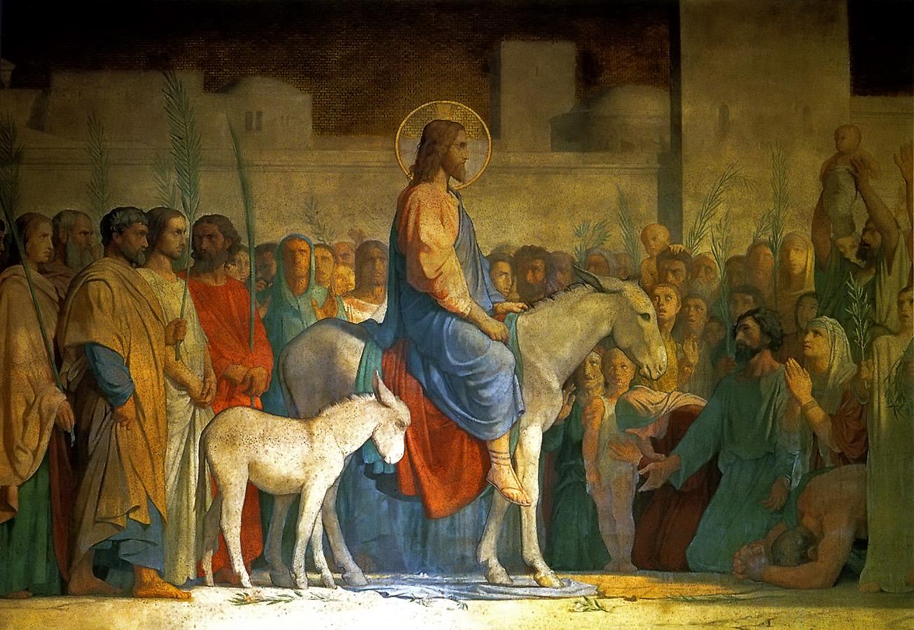 Einzug Jesu in Jerusalem