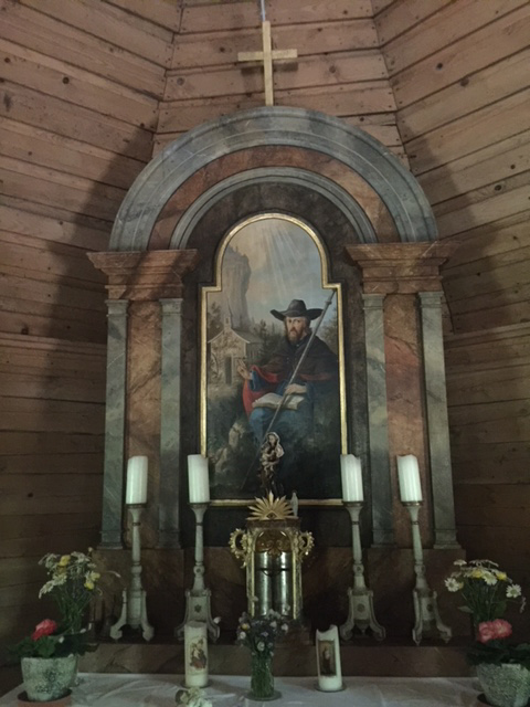 Altar mit dem Hl. Wilhelm