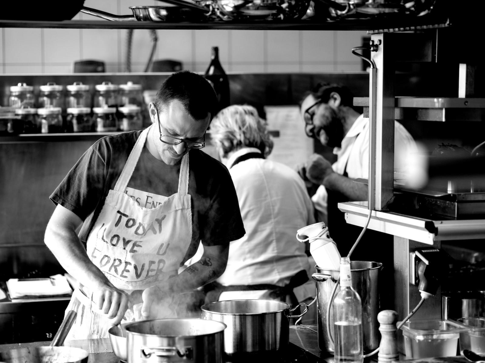 © Der Seehof, Familie Schellhorn in der Küche