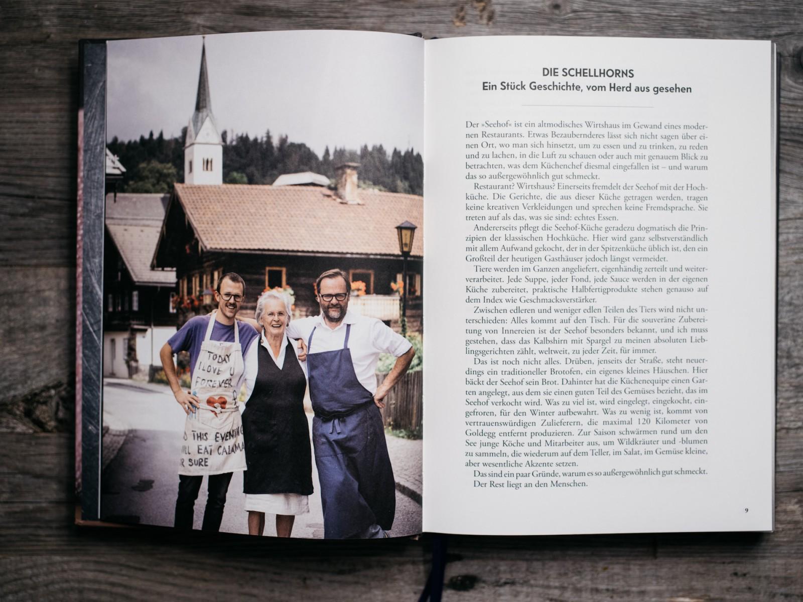 © Der Seehof, Felix, Karola und Sepp Schellhorn verbindet die Leidenschaft für gute Küche