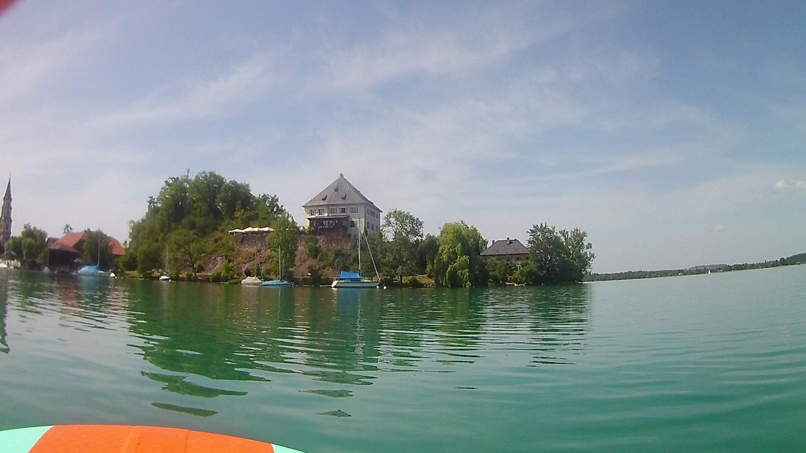 Blick auf Schloss Mattsee