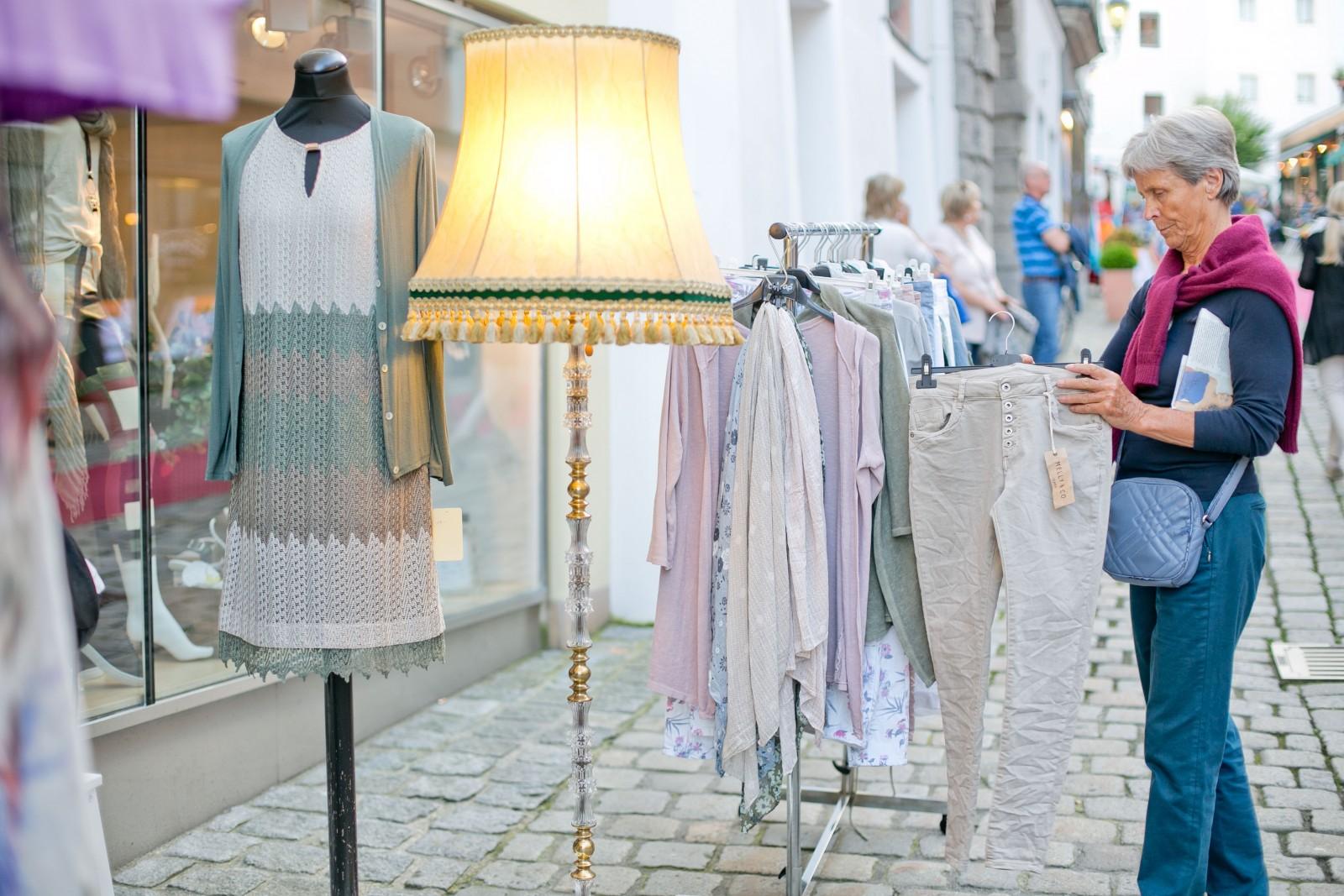Bunt und individuell: Die Shops in Hallein.