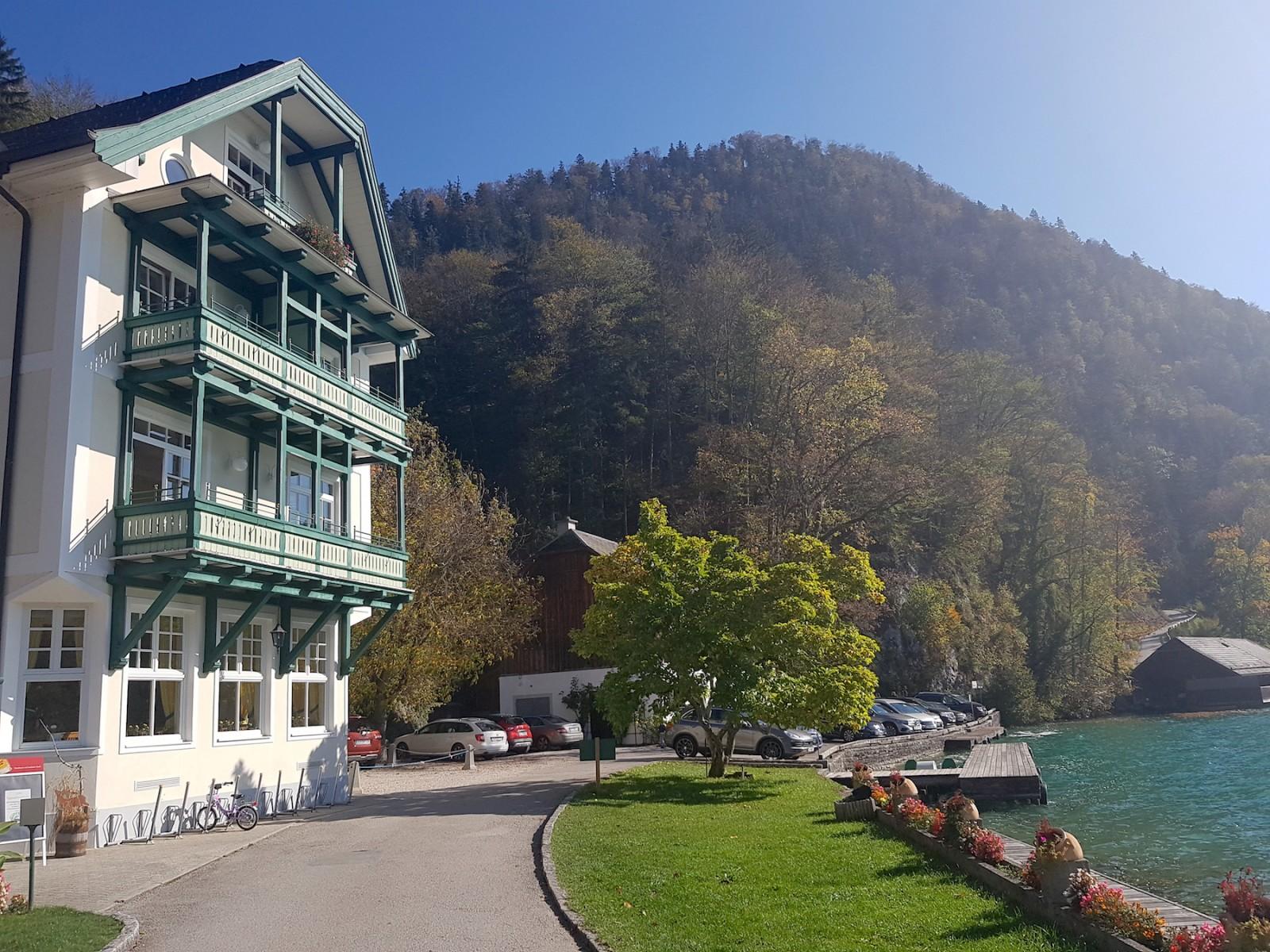 ... und übrigens auch ein Hotel.