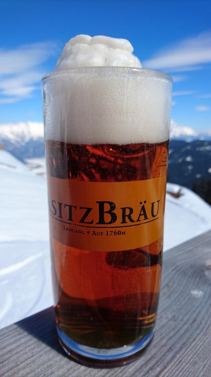 Vollmundig, würzig und auch optisch schön: Das Edel-Bier des