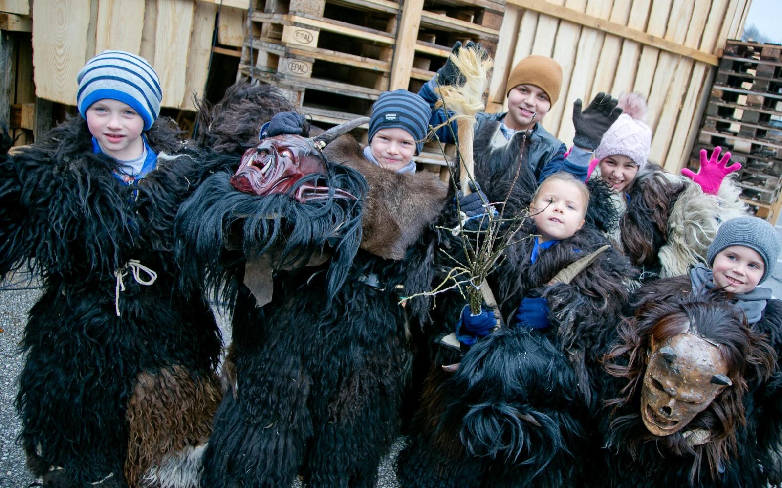 Kinder aus der Grödiger Kinderpass