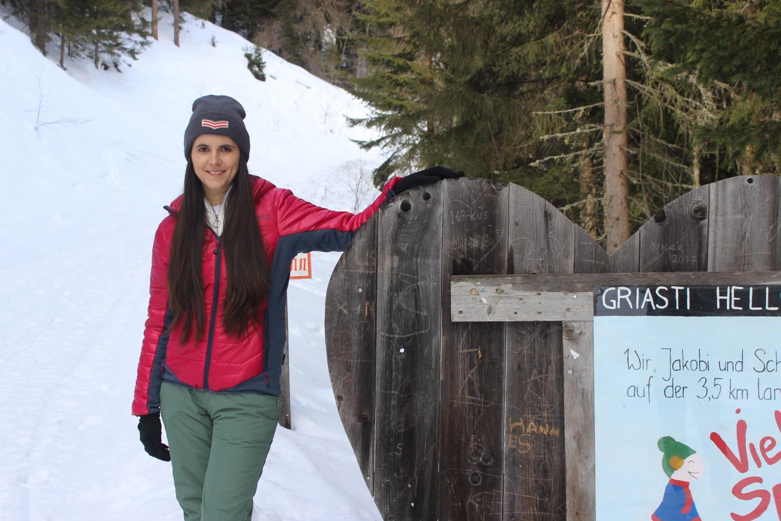 Winterwanderweg zur Wildbachhütte