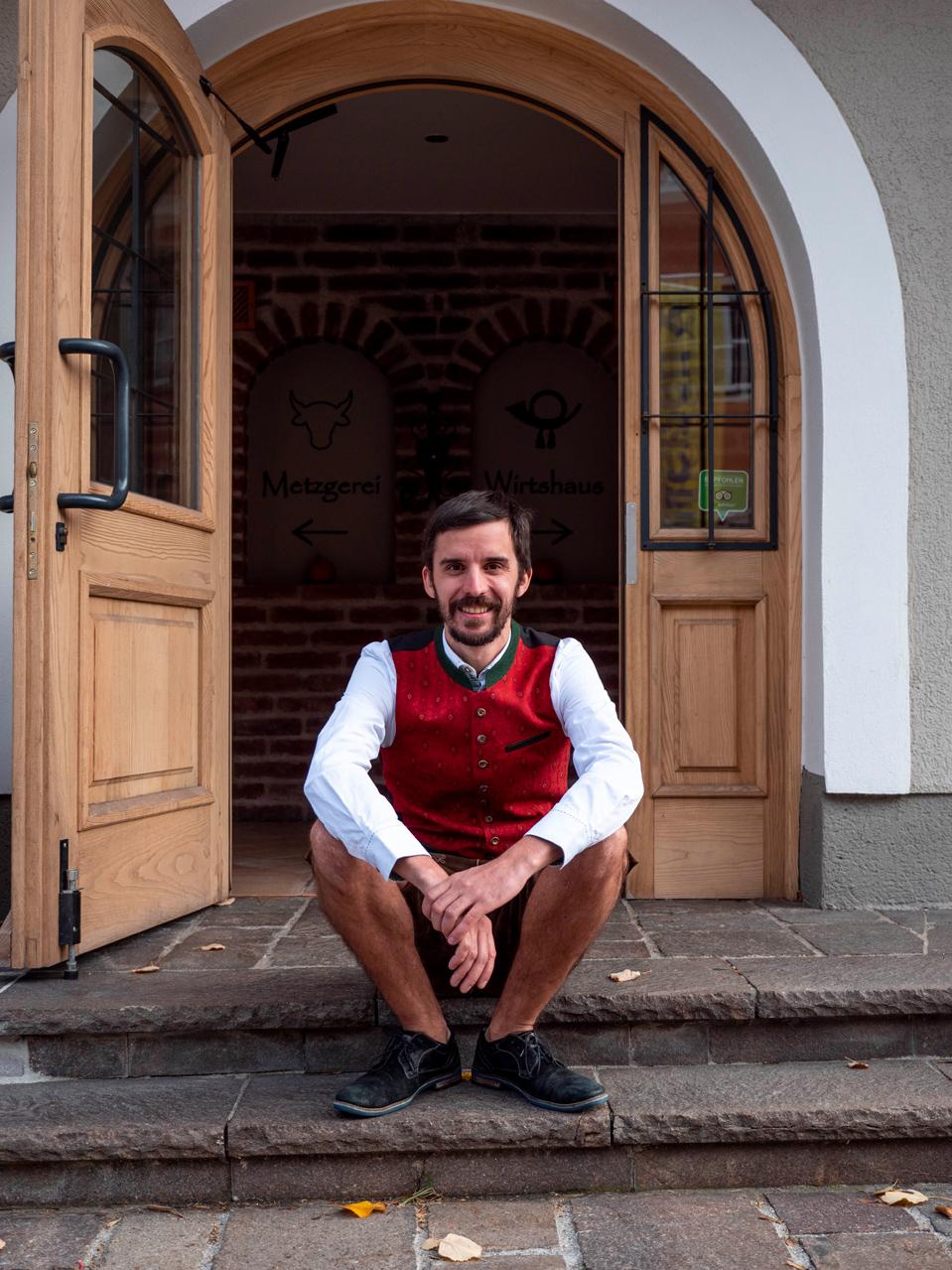 Simon Haigermoser, Postwirt in Annaberg