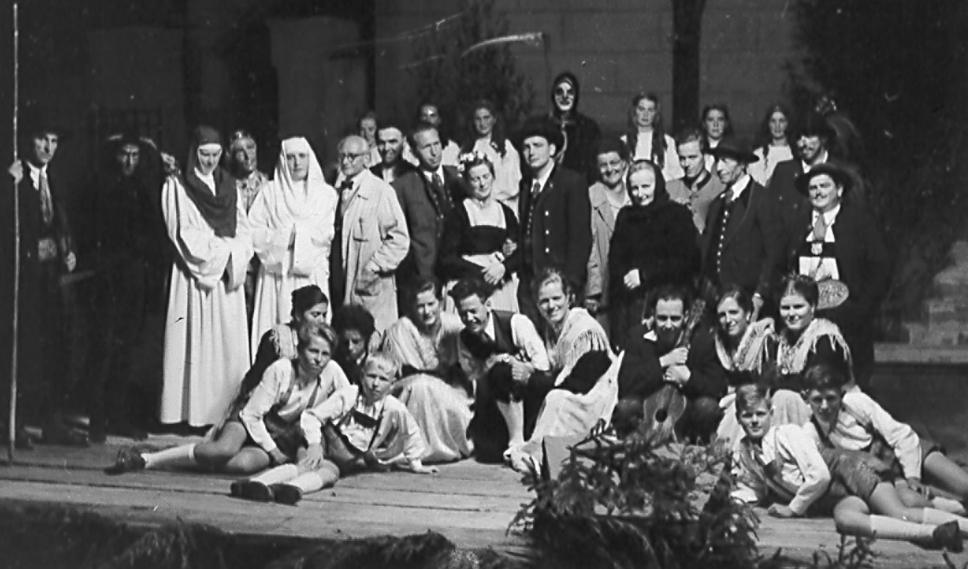 Jedermann-Spielgruppe 1953