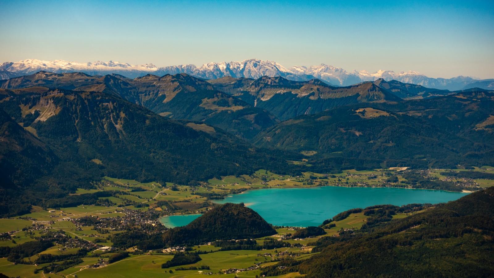 Einzigartige Berge-Seen-Landschaft