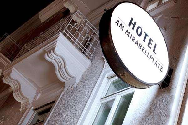 Das neue Hotel am Mirabellplatz.