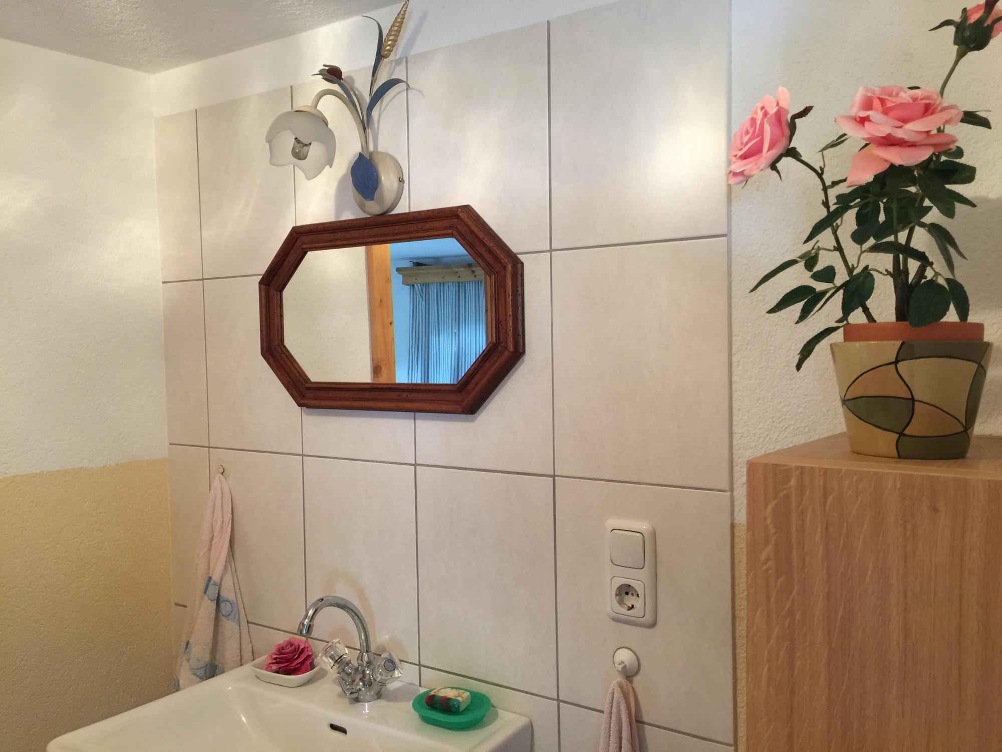 Badezimmer im Samplhaus