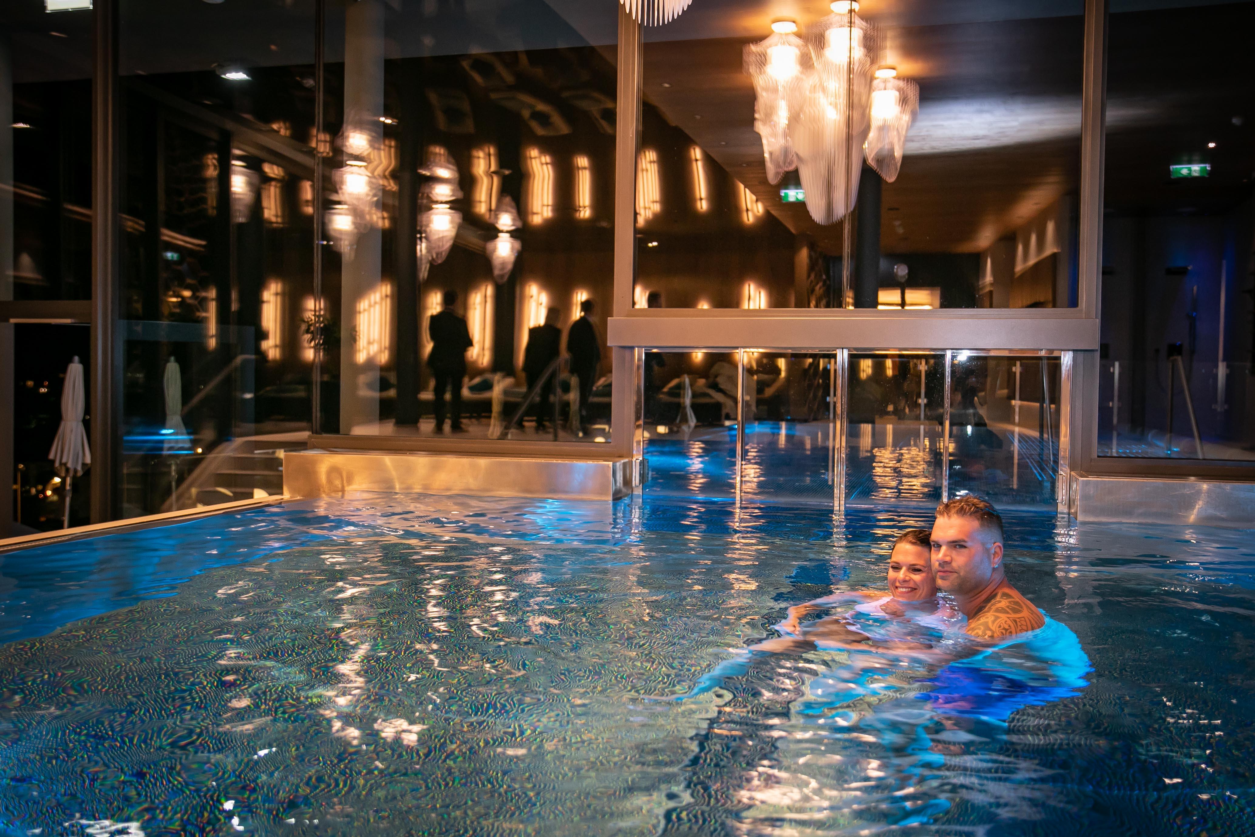 Indoor Pool, Hotel Edelweiss, Großarl ©www.wildbild.at