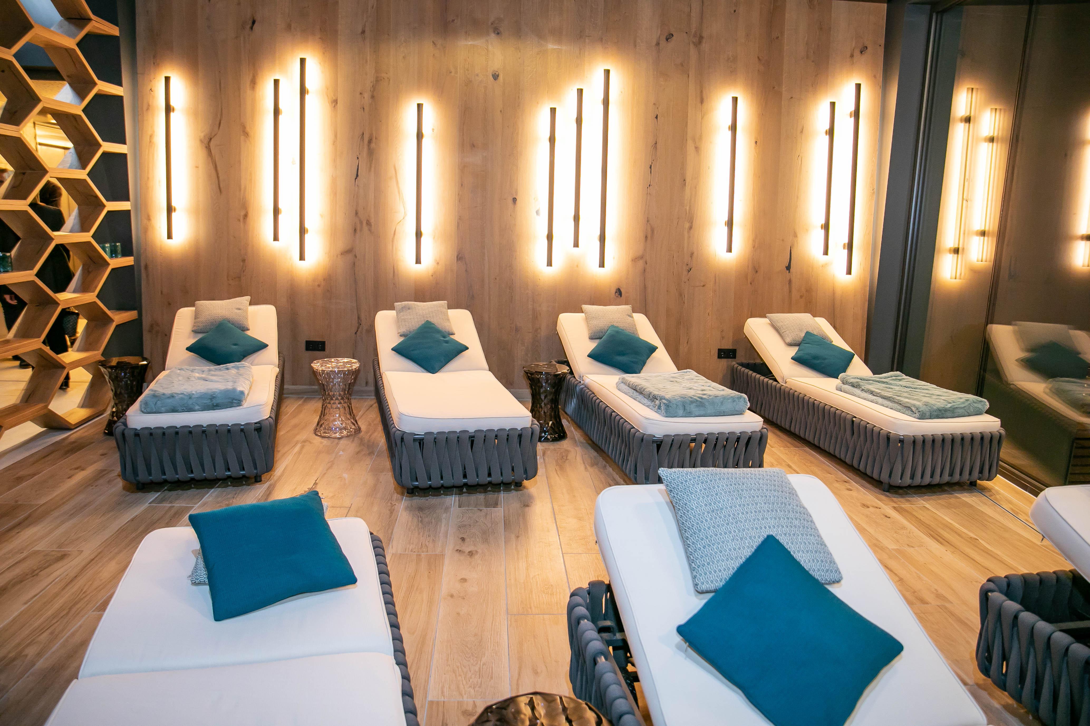 Relaxzone im Hotel Edelweiss in Großarl ©www.wildbild.at