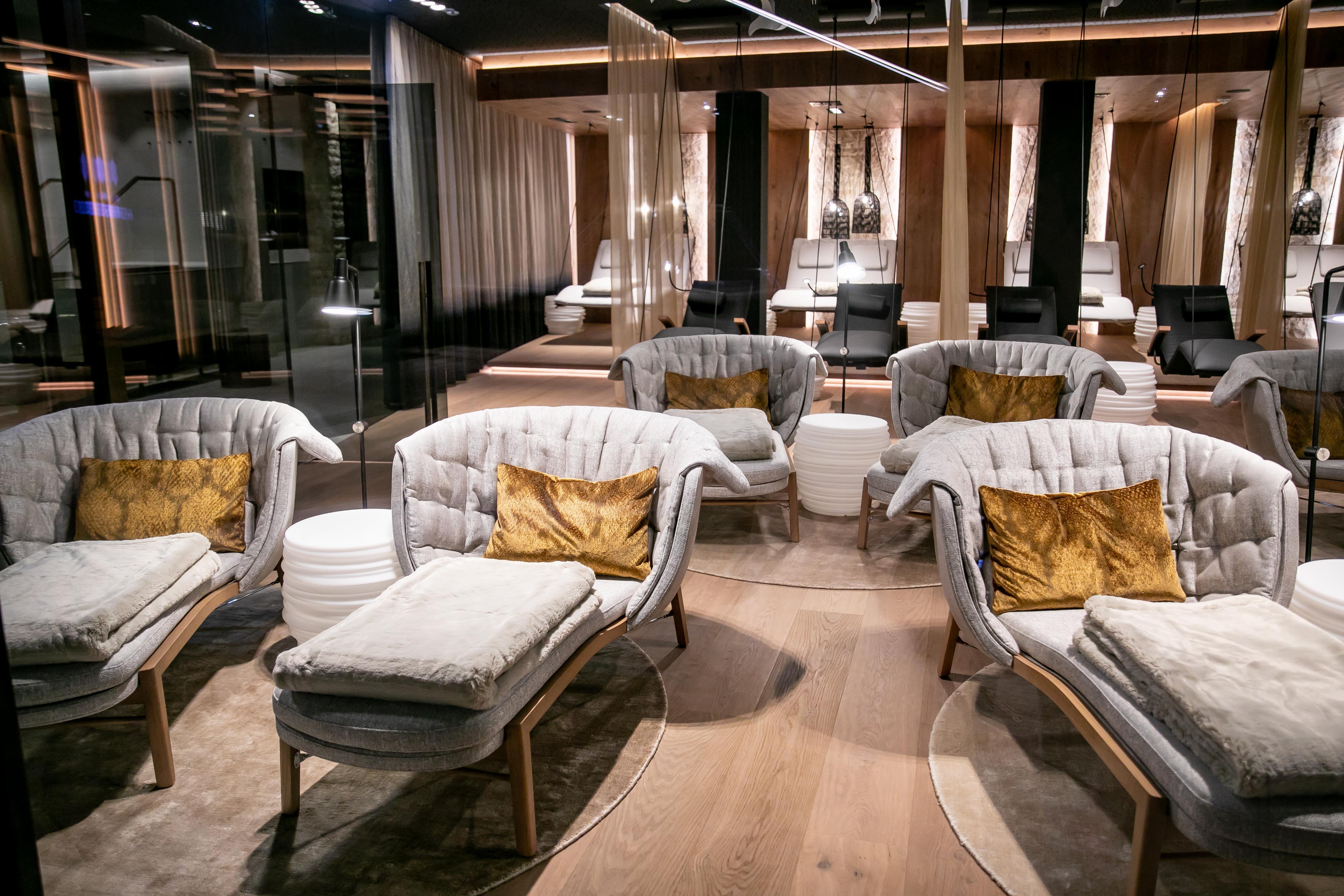 SPA Bereich, Hotel Edelweiss, Eröffnung nach Umbau, Großarl, Salzburg, 20190920, ©www.wildbild.at