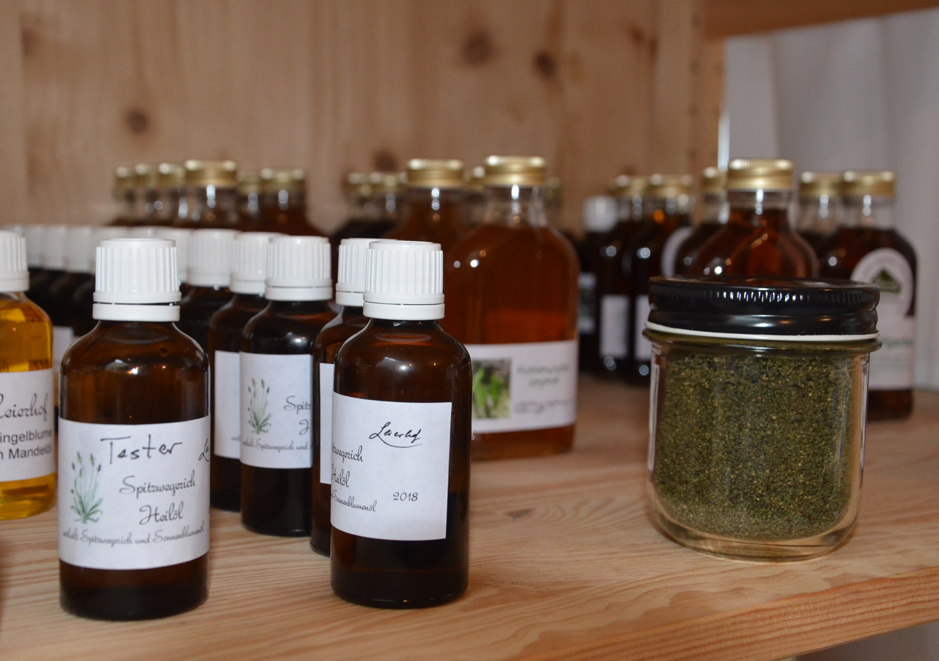 Kräuteröle vom Leierhof