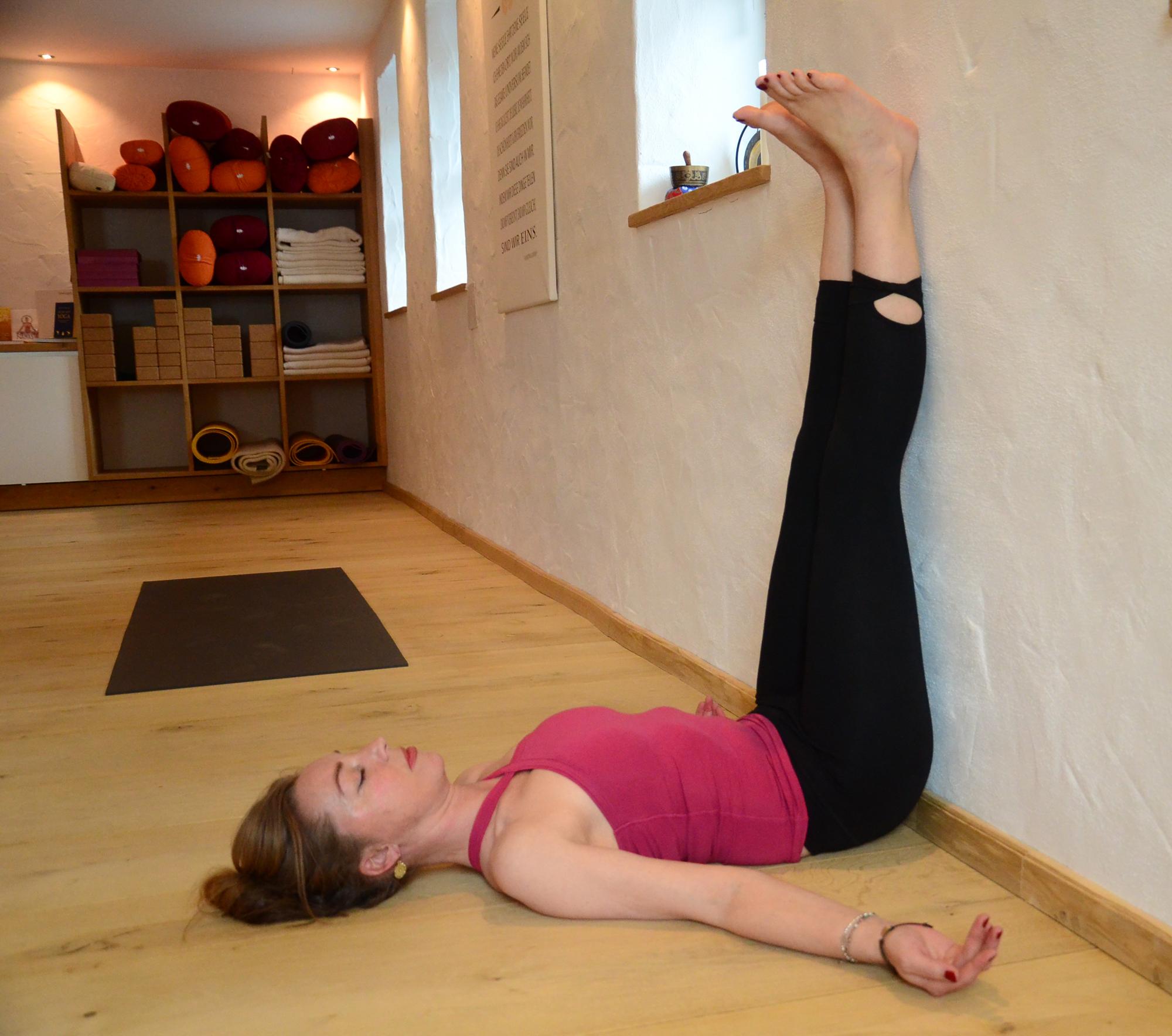 Entspannungsübung für die Beine