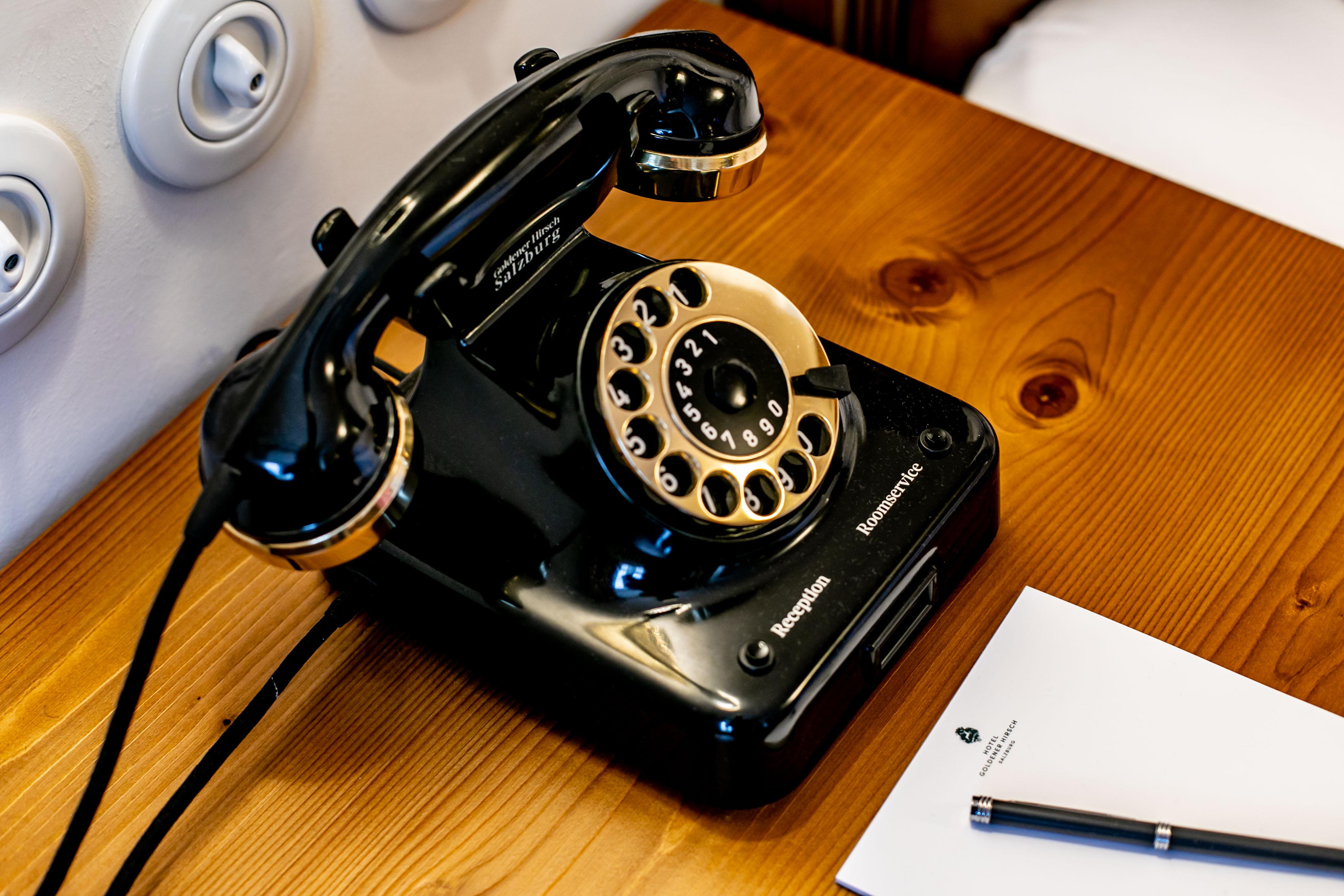 Wählscheibentelefon wie früher. ©www.wildbild.at