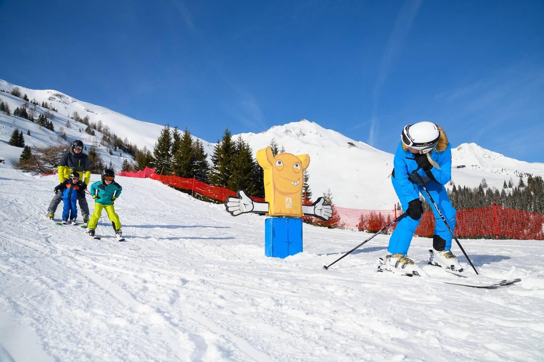 © TVB Rauris / Ski fahren für die ganze Familie