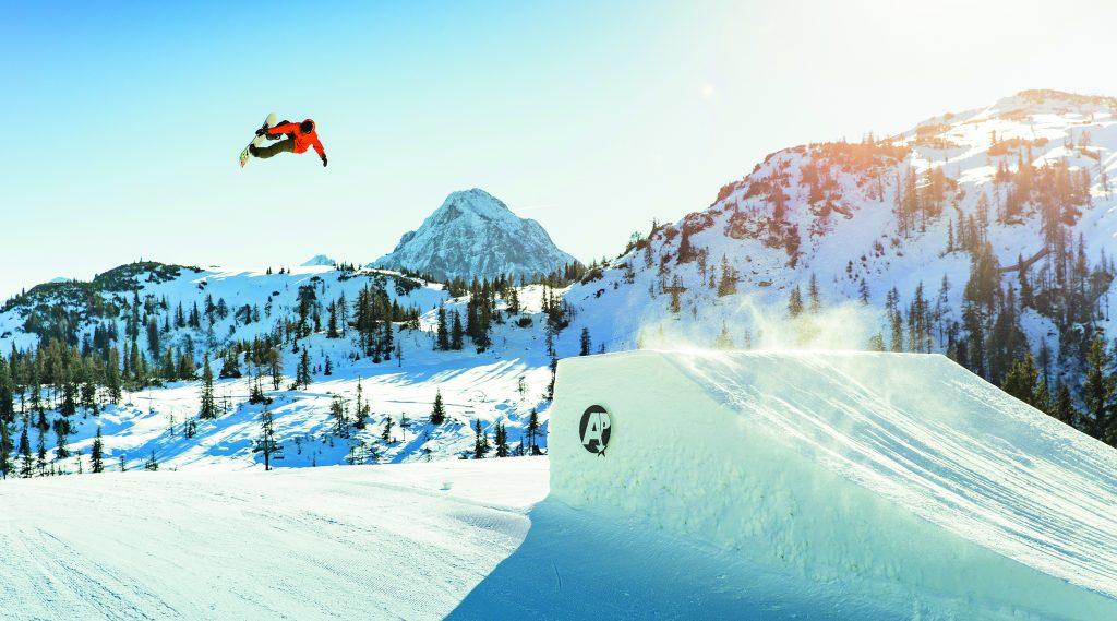 Spaß im Snowpark Shuttleberg in Wagrain-Kleinarl