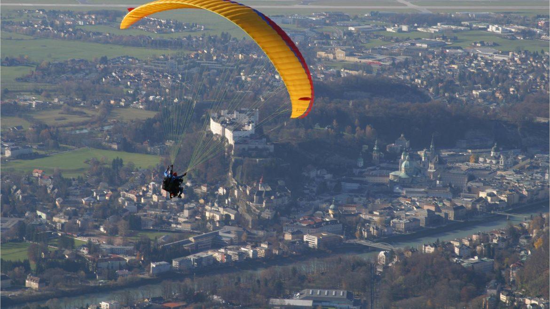 © flytandem.at, Paragleiten über Salzburg