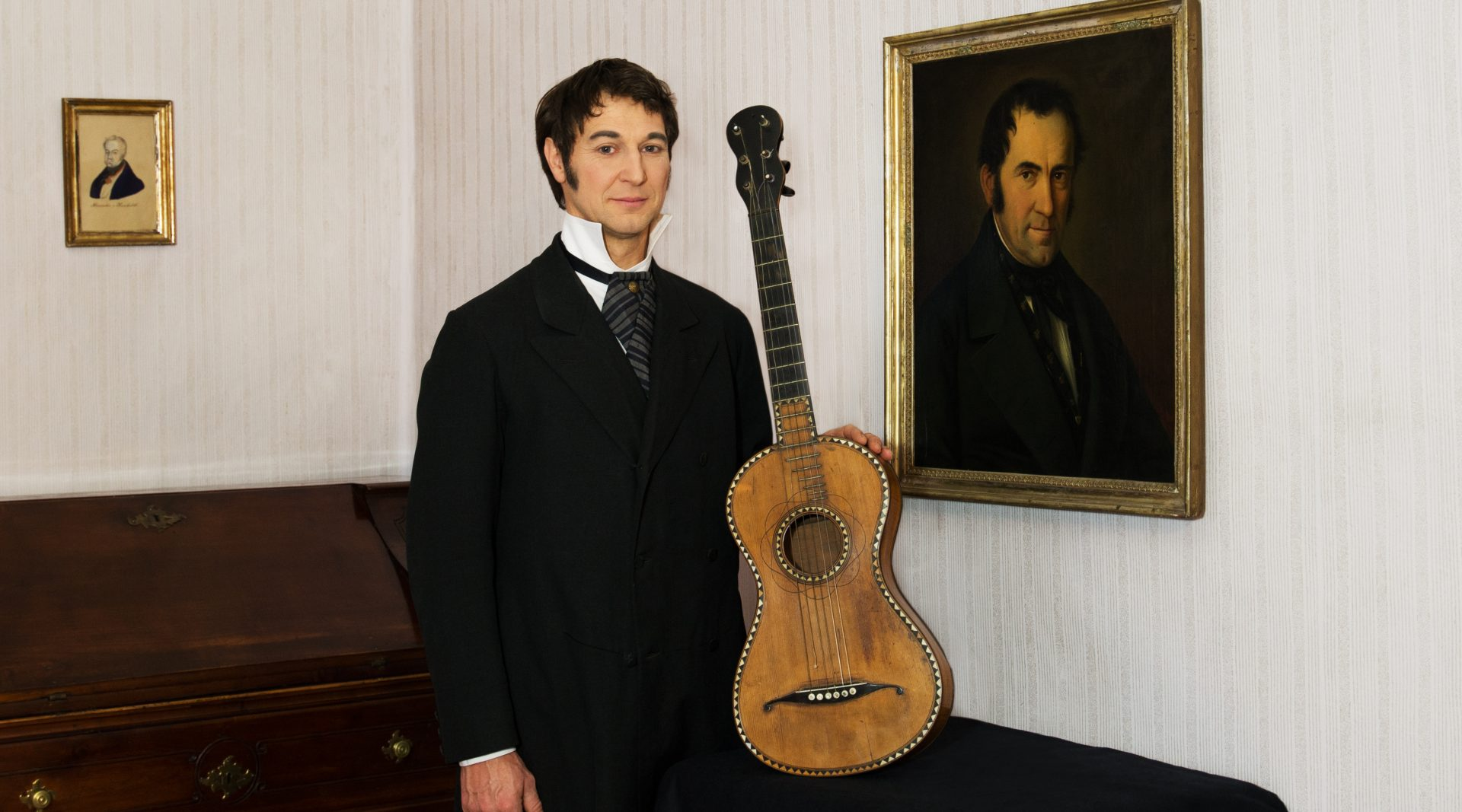 © SalzburgerLand Tourismus, Kathrin Gollackner - Gruber Haus und Gitarre