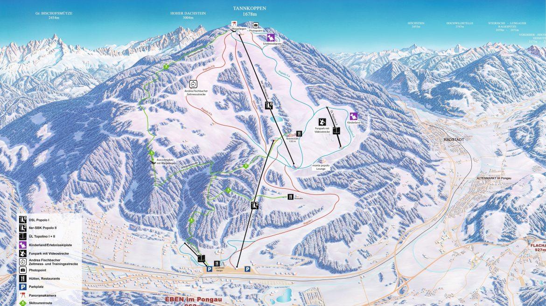 Panoramakarte Monte Popolo 2020
