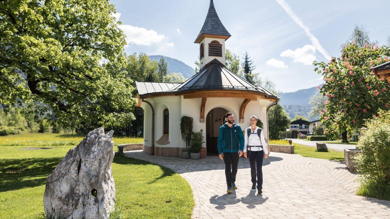Christophorus Kapelle beim Gasthof Bad Hochmoos in St. Martin bei Lofer, © SalzburgerLand Tourismus, Michael Groessinger