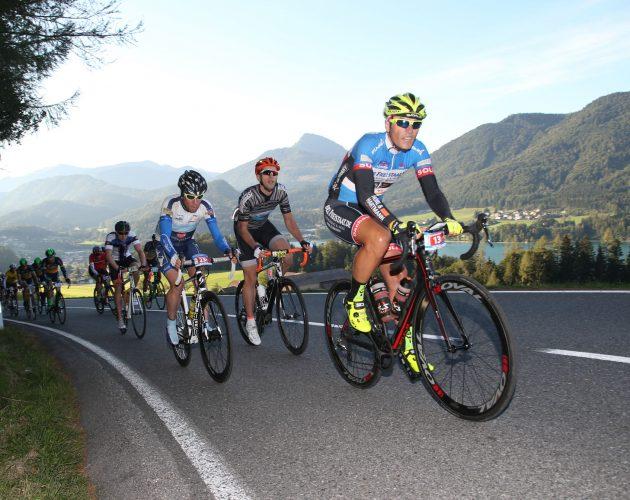 Rennradler bei der Eddy Merckx Classic