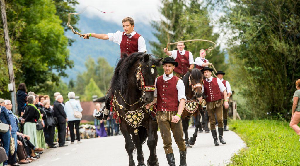 Schnalzen am Pferd