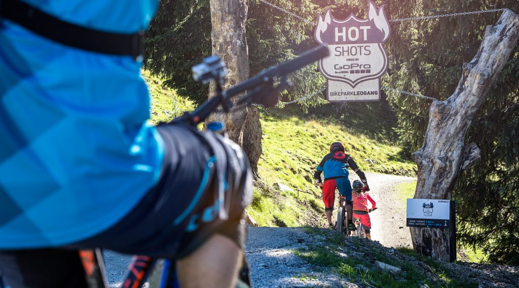 Der Hotshots-Trail in Leogang