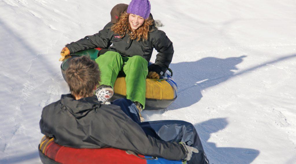 Snowtubing am Erlebnsberg Naglköpfel.