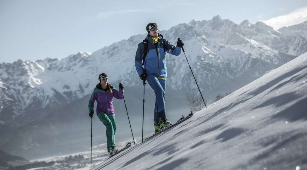 Skitouren ins freie Gelände in Saalfelden Leogang.
