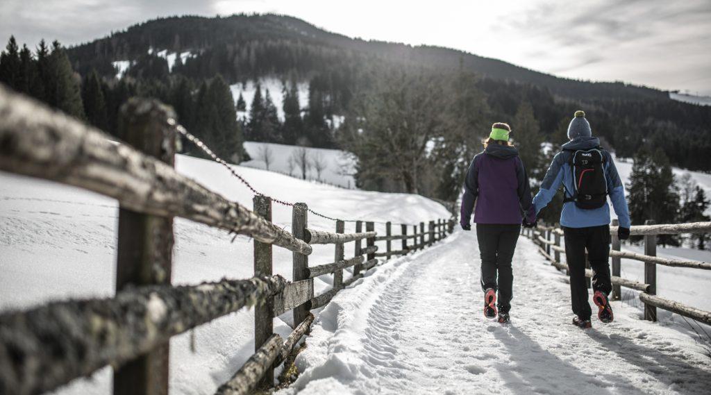 Winterwandern in Saalfelden Leogang.