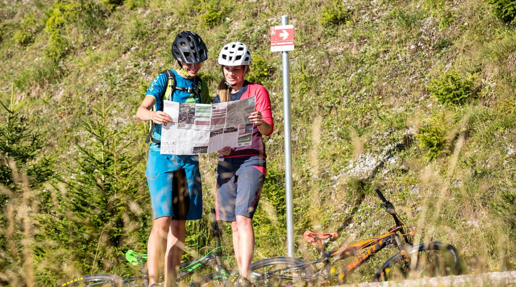 Gemütliche Biketouren in Saalfelden.