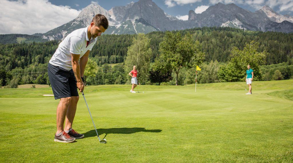 Golfen in Saalfelden Leogang.