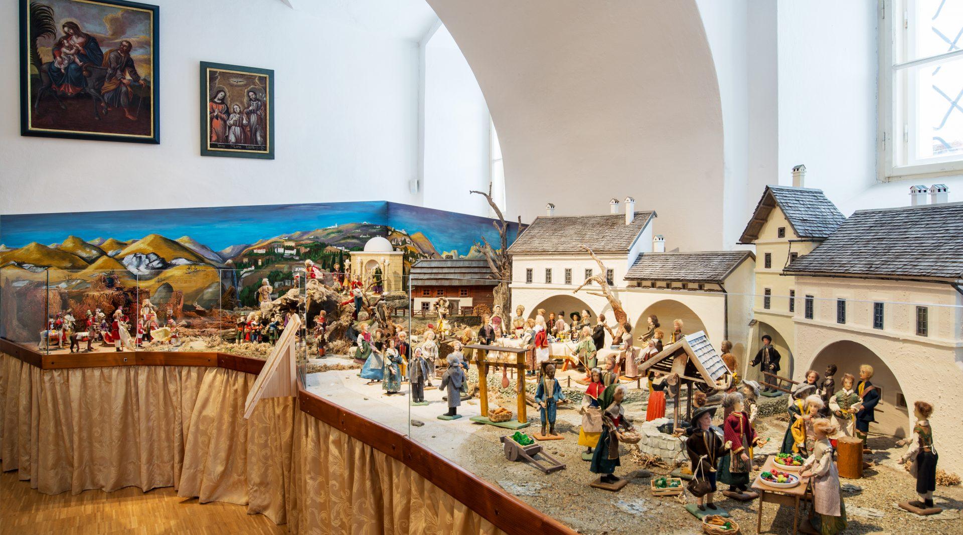 © SalzburgerLand Tourismus, Kathrin Gollackner - Stille Nacht Krippe im Museum Mariapfarr
