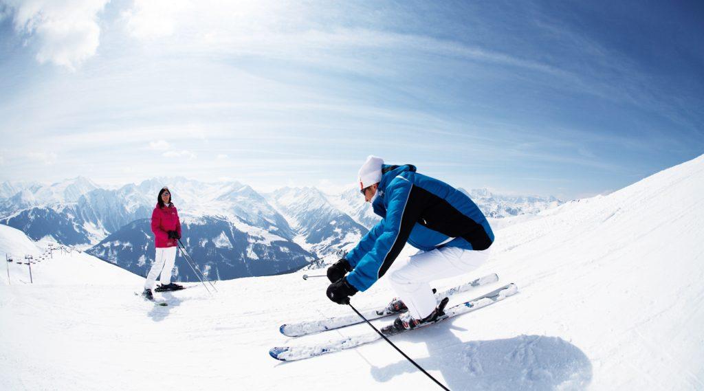 Skifahren in Wald-Königsleiten.