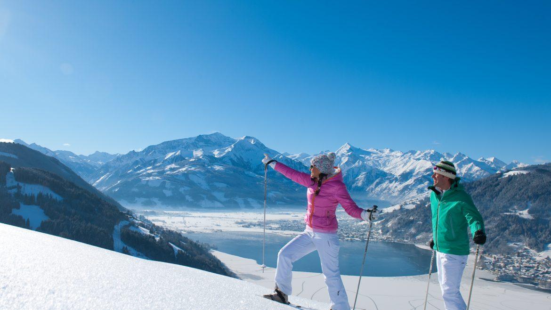 Winterwandern in Maishofen.